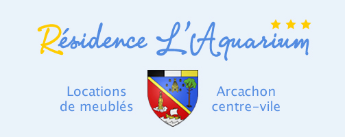 Aquarium Location appartement arcachon